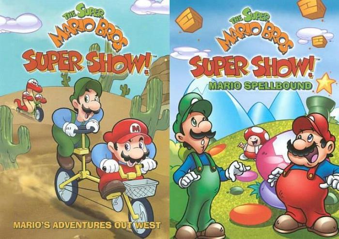 Super Mario Bros. Super Show!: Mario's Adventures Out West/mario Spellbound