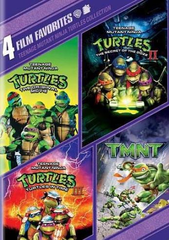 Teenage Mutant Ninja Turtles Collection: 4 Film Favorites