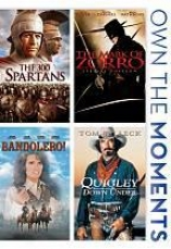 The 300 Spartans/the Mark OfZ orrro/bandolero!/quigley Down Under
