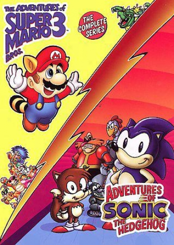 The Adventures Of Super Mario Bros.3  / Adventures Of Sonic The Hedgehog