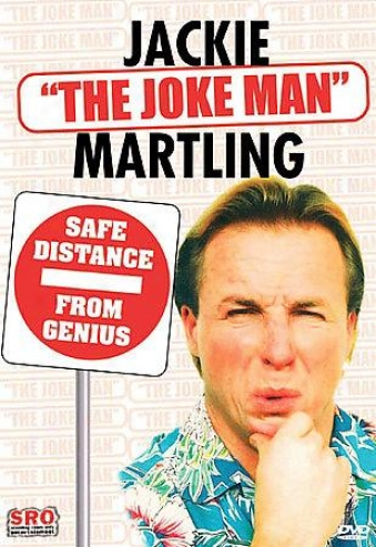 """The Best Of Jackie """"the Jest Man&qot; Martling: Safe Distance From Genius"""