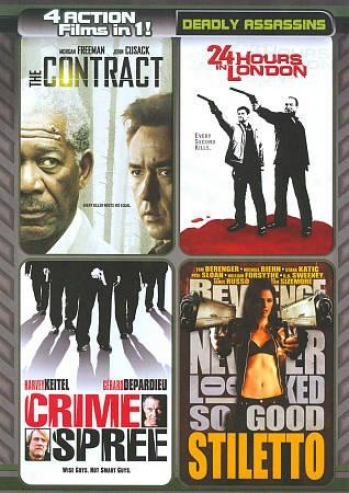 The Contract/24 Hours In London/crime Spree/stiletto