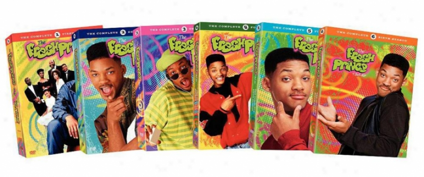 The Fresh Prince Of Bel-air: The Complete Seasons 1-6