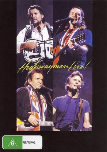 The Highwaymen - Willie, Waylon, Cash & Kris - Live