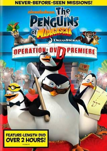 The Penguins Of Madagascar: Operation: Dvd Premirre