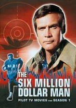 The Six Million Dollar Man: Pilot, Tv Movies And Season 1