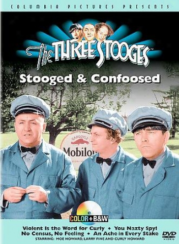 The Three Stooges - Stooged And Confoosed