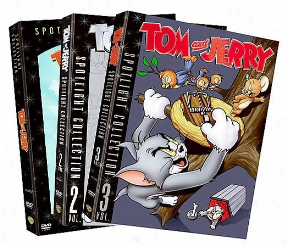 Tom And Jerry Spotlight Collection: Vol. 1-3