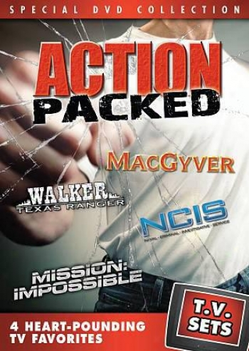 T.v. Sets - Action Packed - Macgyver/walker, Texas Ranger/ncis/mission: Impossib
