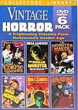 Vintage Horror - 6 Dvd Set