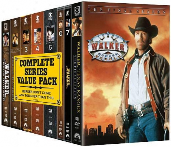 Walker, Texas Ranger: The Complete Series