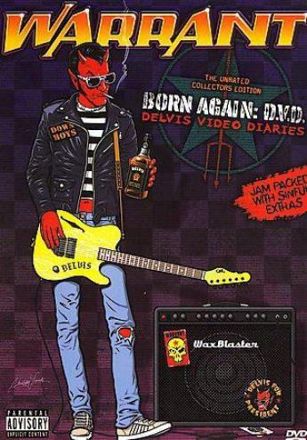 Warrant - Born Again D.v.d.: Delvis Video Diaries