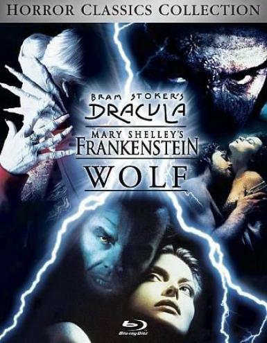 Wolf/dracula/frankenstein Trilogy
