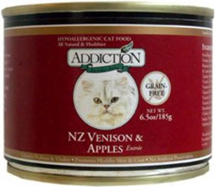 Addiction Can Cat Turkey W/ Cranberroes 5.5 Oz