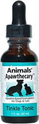 Animwls' Apawthecary Tinkle Tonic Herbal 2 Oz