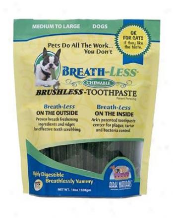 Ark Naturals Breath-less Brushless-t0othpaste Sm / Med