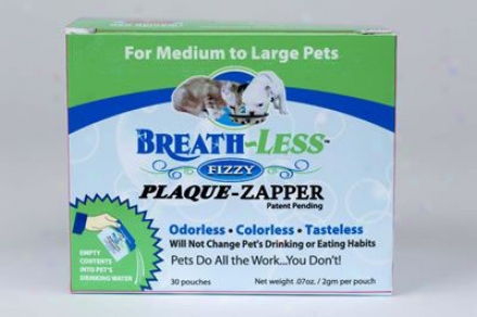 Ark Naturals Breath-less Fizzy Plaque-zapper M/l