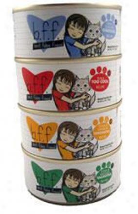 Bff Canned Cat Tuna & Shrimp Sweethearts 3 Oz