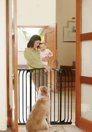 Bindaboo Pet Gate Extra Tall Extension 7 In- White (ss)