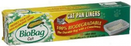 Biobag Biodegradable Cat Pan Liners