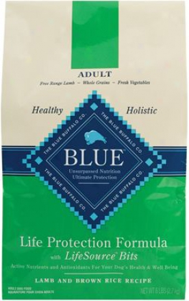 Blue Buffalo Life Protectionn Dry Dog Lamb & Rice 30 Lbs