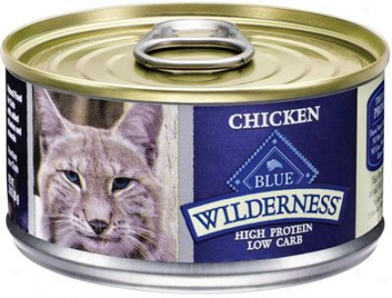 Blue Buffalo Wilderness Canned Cat Turkey 3 OzC ase 24