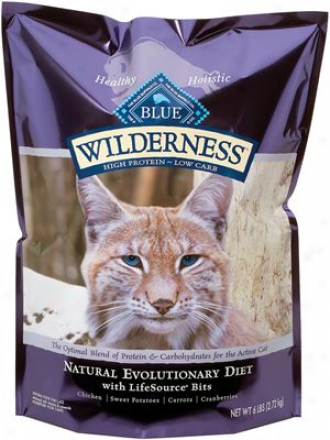 Blue Buffalo Wilderness Sarcastic Cat Turkey & Chicken 6lbs