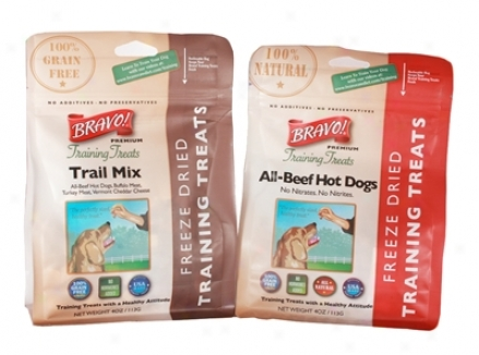 Bravo! Training Dog Treats Trail Mix 4 Oz