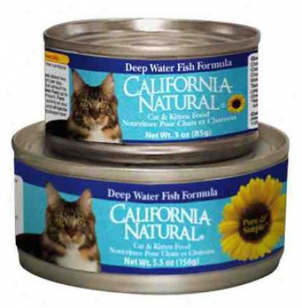 California Natural Can Cat Fish & Rice 5.5 Oz
