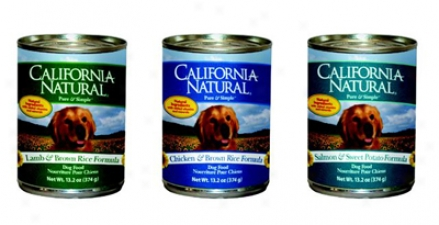 California Natural Can Dog Lamb ↦ Rice 13.2 Oz Case 12