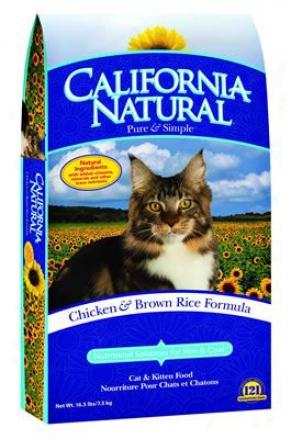 California Natural Dry Cat Food Herring & Potato 15 Lbs