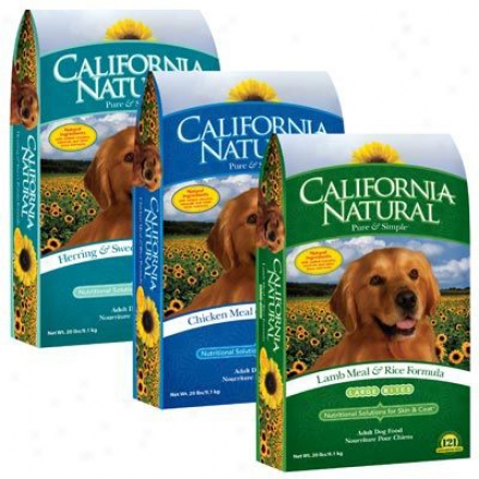 California Natural Dry Dog Lamb & Rice 5 Lb Small Bites