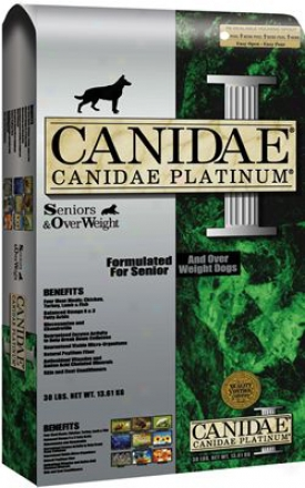 Canidae Platinum Dry Dog Food 15 Lbs