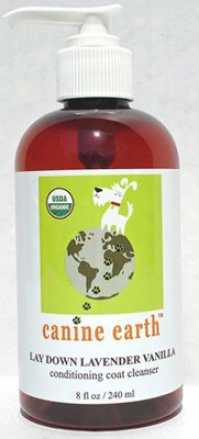 Canine Earth Lavender Vanilla Aromatherapy Spray 8 Oz