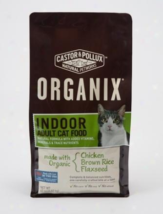 Castor & Pollux Organix Indoor Organic Dry Cat 6 Lbs
