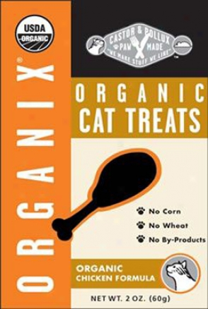 Castor & Pollux Organix Organic Cat Treats Chicken 2 Oz