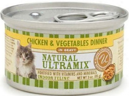 Castor &amp; Pollux Ultramix Indoor Can Cat 3 Oz