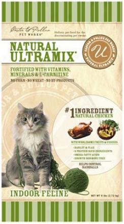 Castor & Pollux Ultramix Indoor Feline Dry Cat 5.5 Lbs