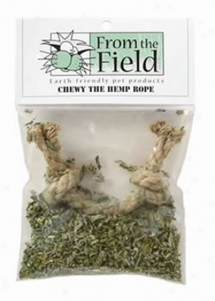 Chewy The Hemp Rope Catnip Toy
