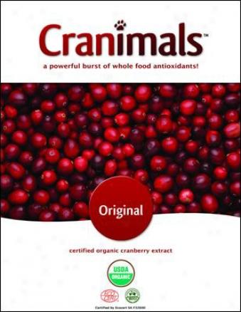 Cranimals Whole FoodA ntioxidants Very Berry 120 Grams