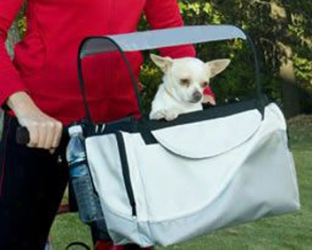 Deluxe Tagalong Pet Bicycle Basket (ss)