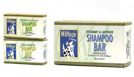Dermagic Shampoo Bars Peppermint & Tea Tree Oil 3.5oz