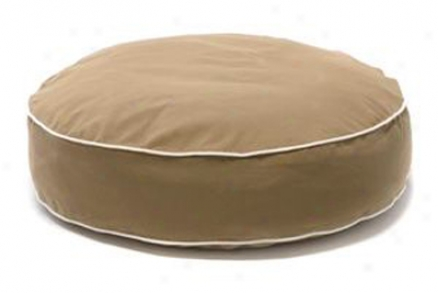 Dog Gone Smart Bed Round Xl Blue W/ Top (ss)