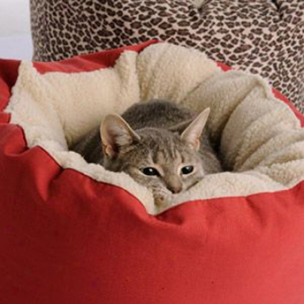 Dog Gone Smart Cat Bed Brown (qs)