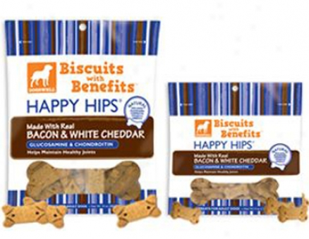 Dogswell Biscuits Happy Hips Chicken 4 Oz