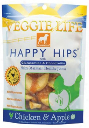 Dogswell Veggie Happy Hip Chicken & Apple 5 Oz 6 Pack