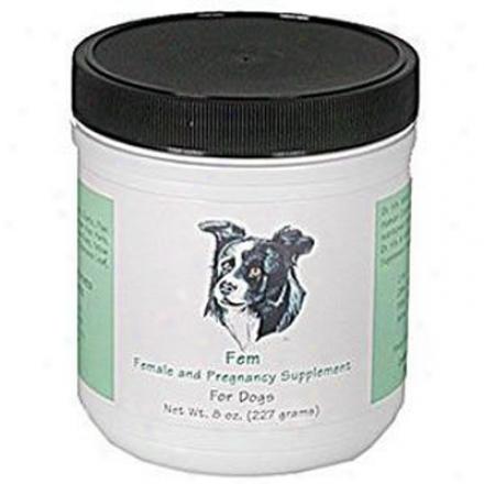 Dr. Harvey's Fem Pregnancy & Of ~s Dog Supplement 8 Oz