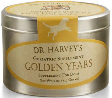 Dr. Harvey's Golden Years Geriatric Dog Supplement 8 Oz