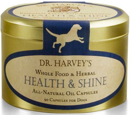 Dr. Harvey's Health & Shine Dog Supplement 90 Capsules