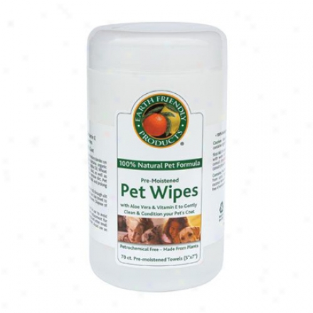 Earth Friendly Pet Wipes